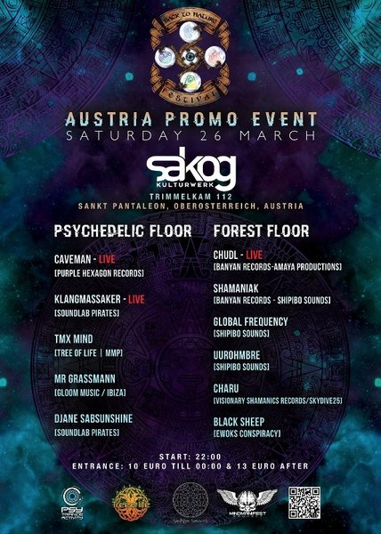 Back to Nature Festival Austria teaser Party 26 Mar '16, 22:00