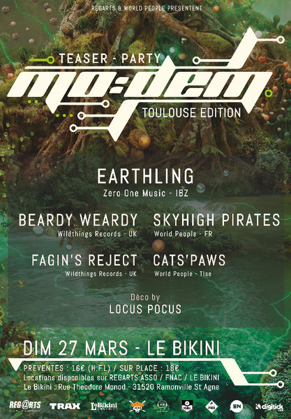 MoDem Festival // Teaser-Party 27 Mar '16, 23:00