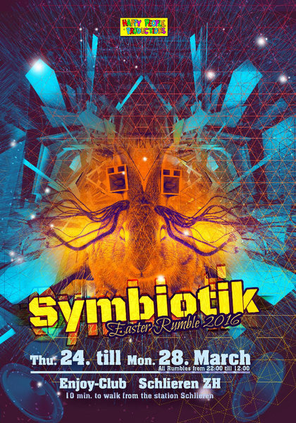 ✹ SYMBIOTIK ✹ Easter Rumble ✹ four nights ✹ four styles 27 Mar '16, 22:00