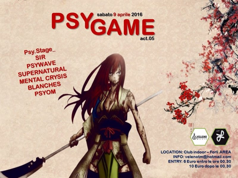 PSY GAME // act.05 9 Apr '16, 22:30