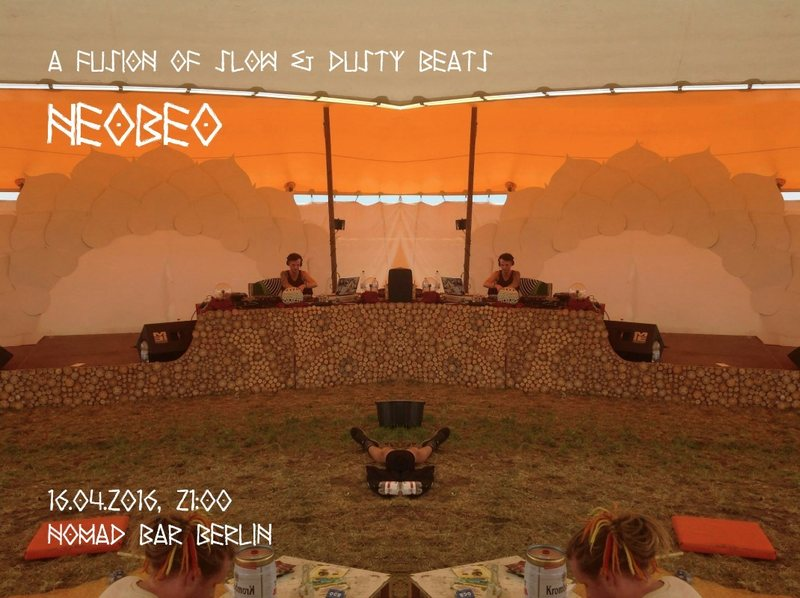 ⫷ Electronic Dj Night: neoBeo a fusion of slow & dusty