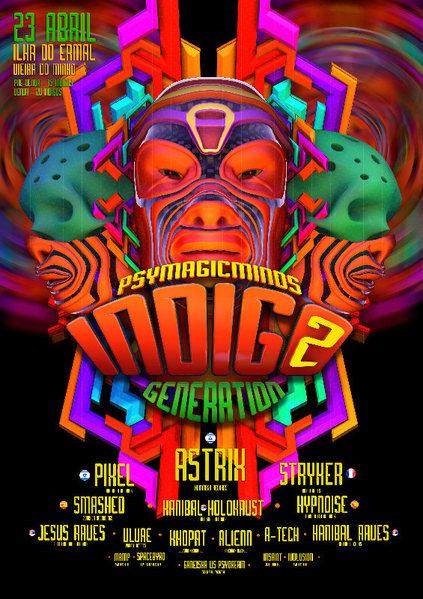 INDIGO GENERATION 2º EDITION 23 Apr '16, 22:00