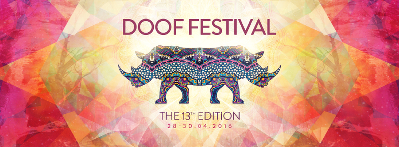 ❖ DOOF FESTIVAL 2016 - The 13 Edition ❖ 28 Apr '16, 12:00