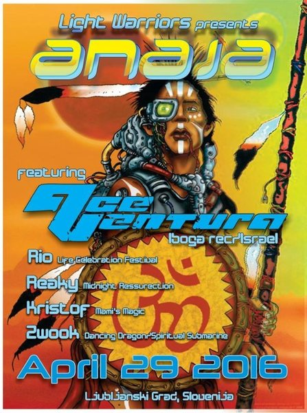 ANAJA presents Ace Ventura Live ! by Light Warrior & Apsurdistan 29 Apr '16, 22:30