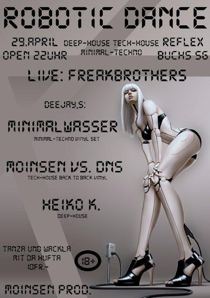 Robotic Dance 29 Apr '16, 22:00