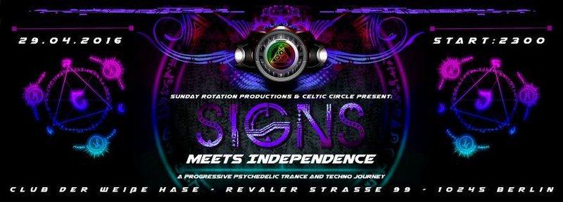 SIGNS III meets IndepenDANCE 29 Apr '16, 23:00