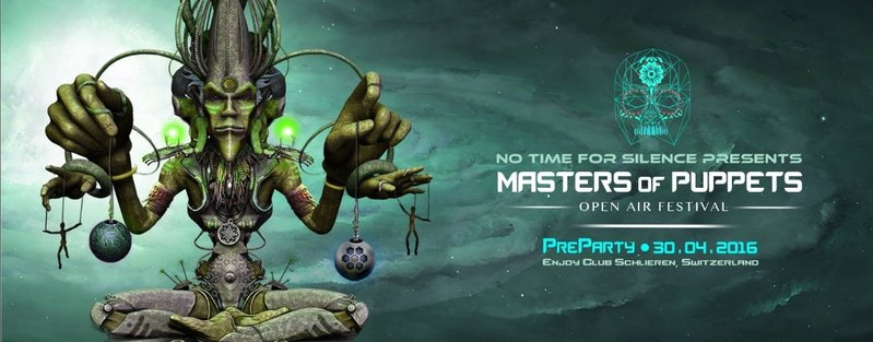 MASTERS OF PUPPETS PRE PARTY by No Time for Silence! 30 Apr '16, 22:00