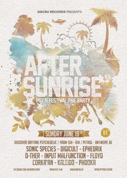 After Sunrise > Psy-Fi pre party 19 Jun '16, 15:00