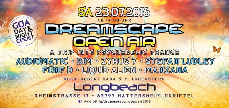 DREAMSCAPE OPEN AIR 2016 - 23. juli 23 Jul '16, 14:00