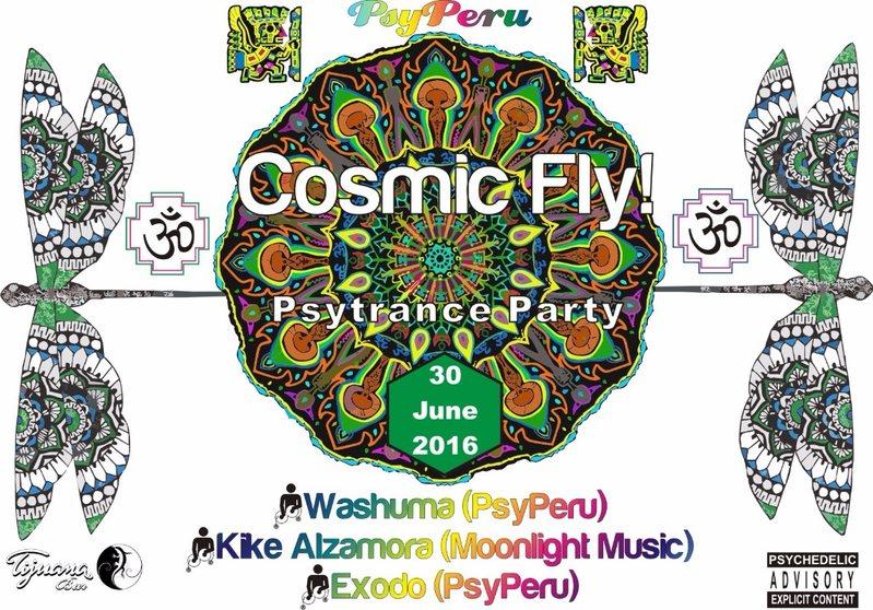 Cosmic Fly! 30 Jun '16, 21:00