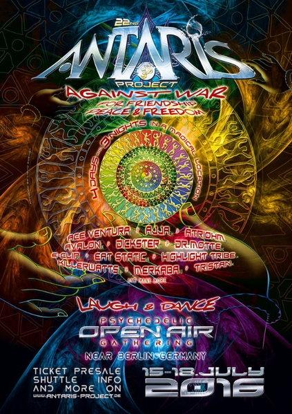 Antaris Project 2016 15 Jul '16, 12:00