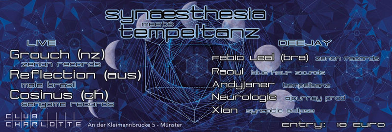 Synæsthesia meets Tempeltanz 22 Jul '16, 23:00