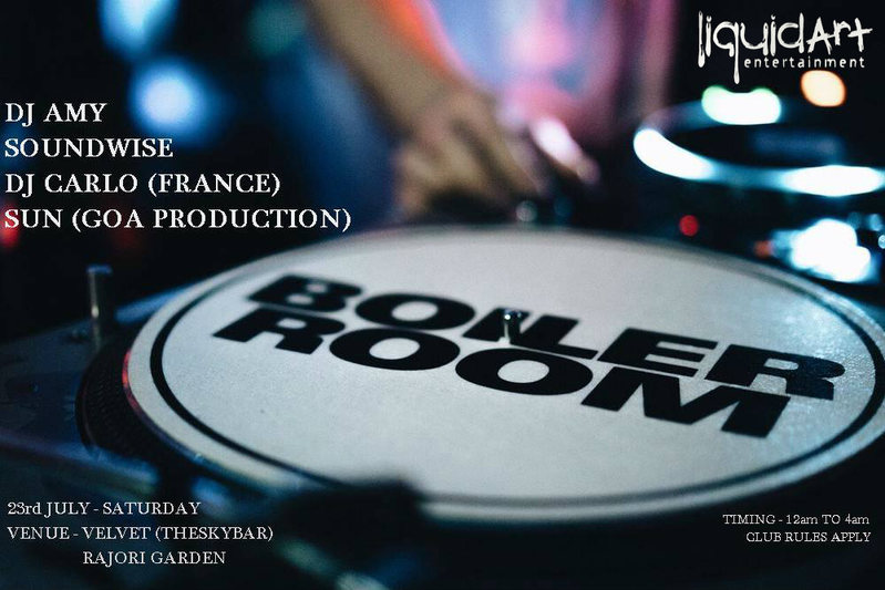 Boiler Room Party Vol.01 23 Jul '16, 23:30
