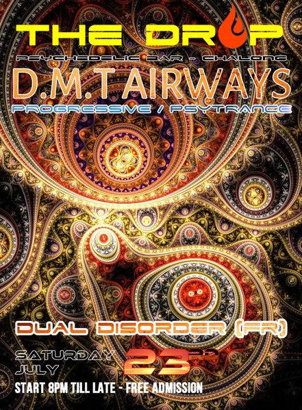 Party flyer: ☮ D.M.T Airways ॐ 23 Jul '16, 20:00