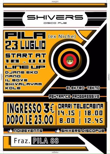 Party flyer: Psytrance Night 23 Jul '16, 18:00