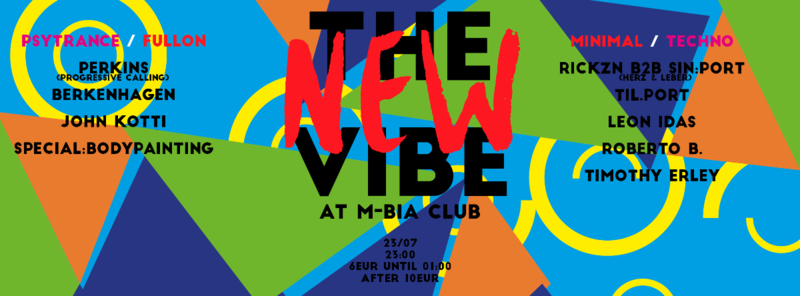 The New Vibe 23 Jul '16, 23:00