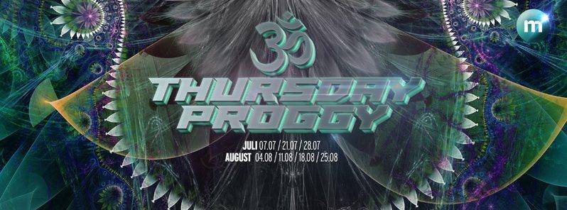 ॐ Thursday Proggy ॐ [Sommerferien] at m 11 Aug '16, 23:00