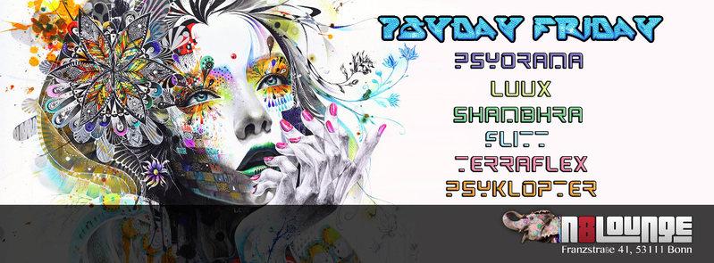 Bonn Goa ► Psyday Friday 12 Aug '16, 22:00