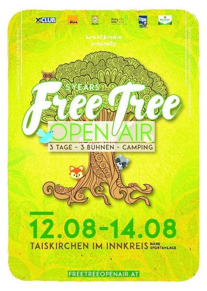 Free Tree Open Air 12 Aug '16, 14:00