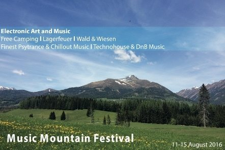 MusicMountainFestival 12 Aug '16, 22:00