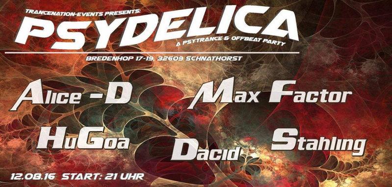 Psydelica 12 Aug '16, 21:00