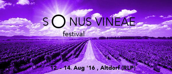Sonus Vineae Festival 2016 12 Aug '16, 18:00