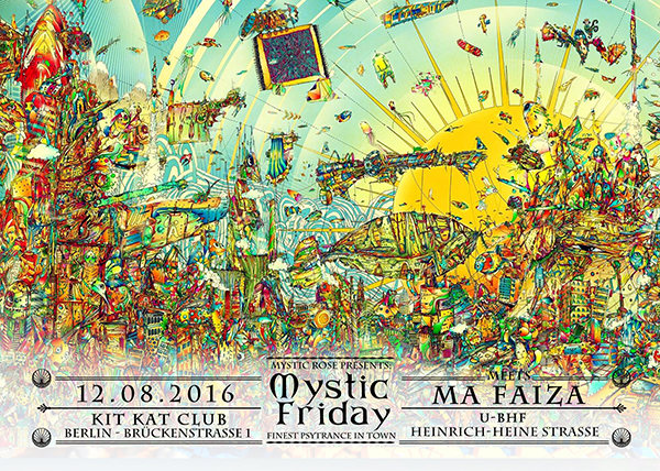 The Mystic Friday meets Ma Faiza 12 Aug '16, 23:00