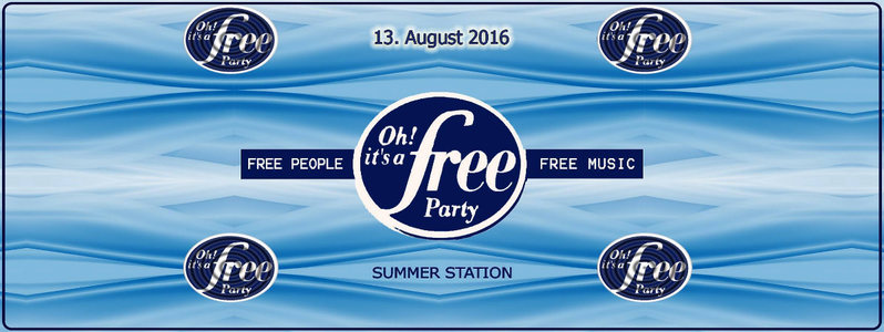Oh it's a free Party ► GOA beim INDER 13 Aug '16, 17:00