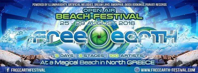FREE EARTH FESTIVAL 25 Aug '16, 10:00