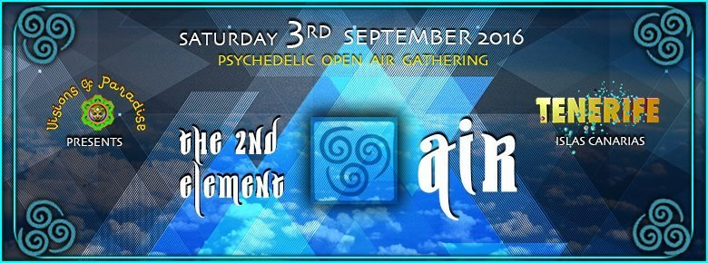 >> The Second Element - Air << 3 Sep '16, 22:00