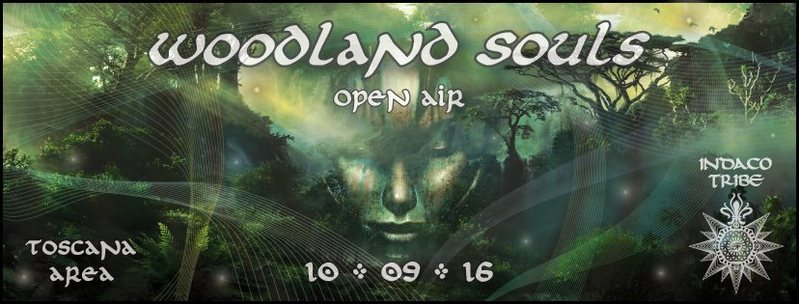 Party flyer: WOODLAND SOULS 10 Sep '16, 20:00