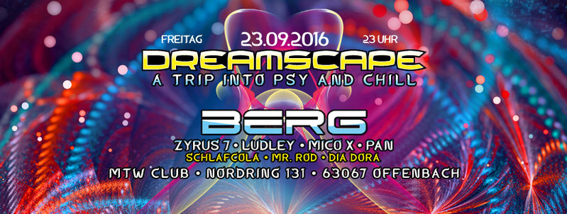 DREAMSCAPE with Berg (Bluetunes) 23 Sep '16, 23:00