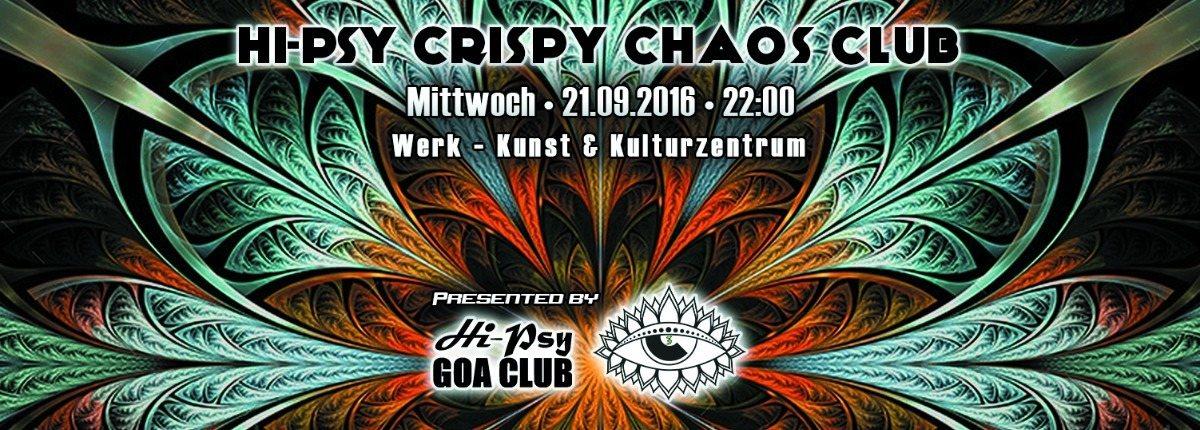 HPC³ - HiPsy Crispy Chaos Club 24 Sep '16, 22:00