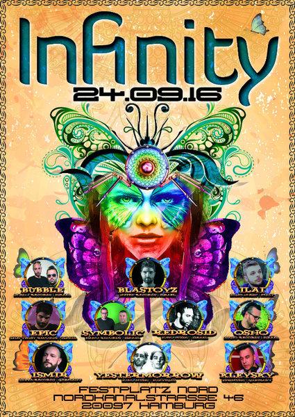 INFINITY - HAMBURG 24 Sep '16, 23:00