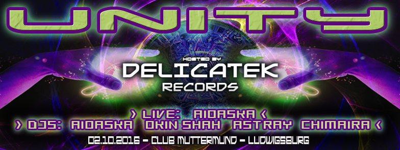UNITY ₪ Trance Dance feat Aïoaska Live ॐ 2 Oct '16, 22:00
