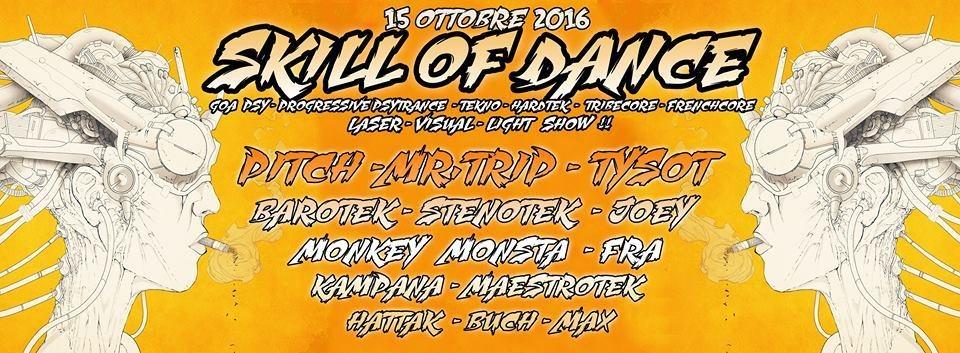 goa psy + hardtek party - big location @ feltre ( belluno ) 15 Oct '16, 22:00