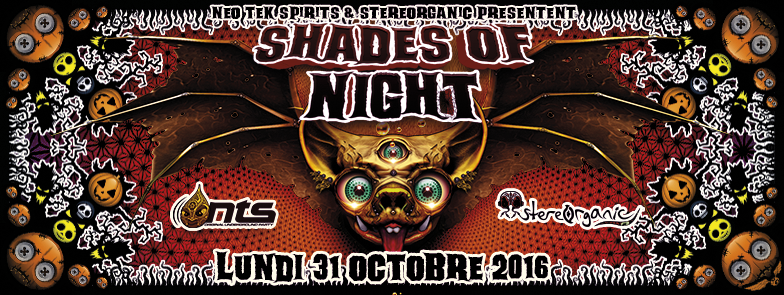 SHADES OF NIGHT 31 Oct '16, 18:00