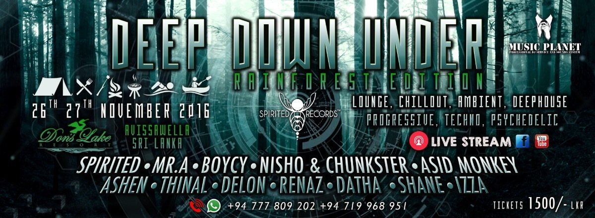 ★♛✌ ★ Deep•Down•Under ★♛✌ ★ ♫ Rainforest Edition ♫ 26 Nov '16, 12:00