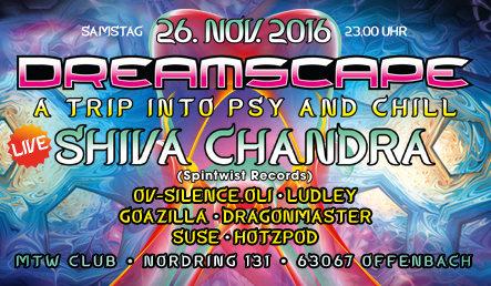 Dreamscape mit Shiva Chandra 26 Nov '16, 23:00