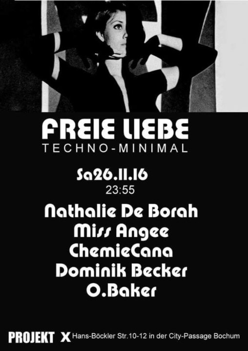 Freie Liebe mit Nathalie de Borah 26 Nov '16, 23:30