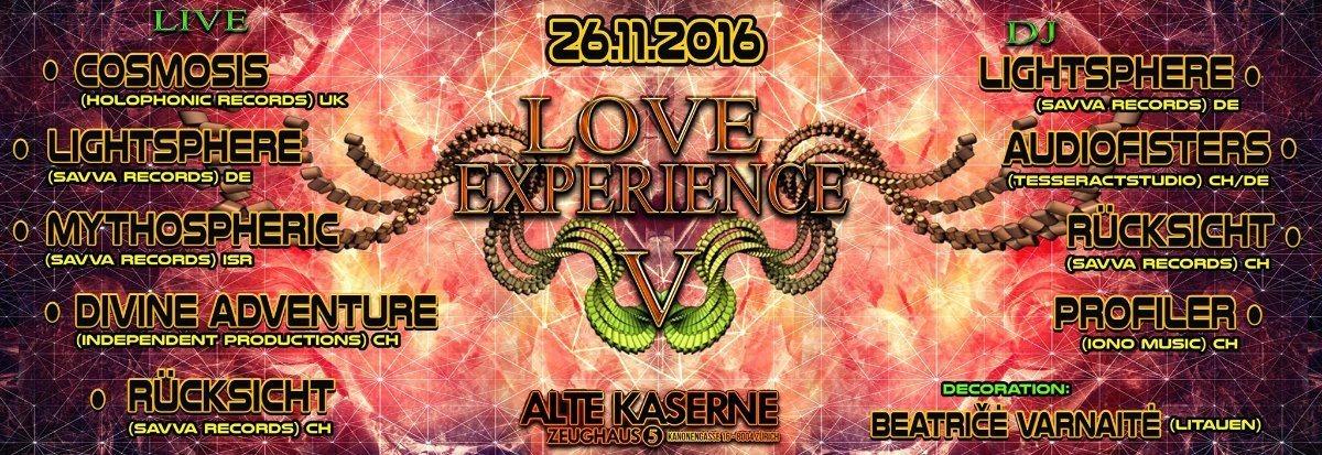**LOVE EXPERIENCE V** 26 Nov '16, 23:00