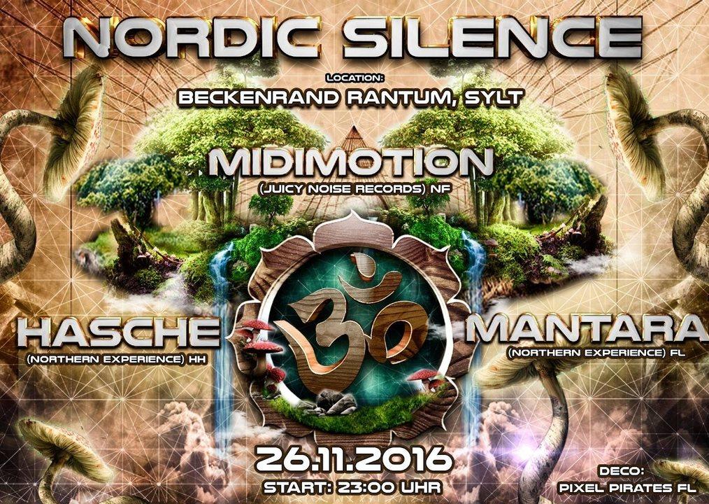Nordic Silence meets Sylt - Midimotion, Hasche, Mantara 26 Nov '16, 23:00
