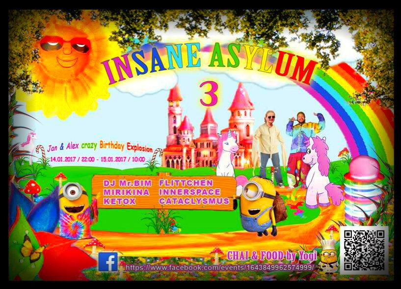 ◆ Insane Asylum 3 ◆ 14 Jan '17, 22:00