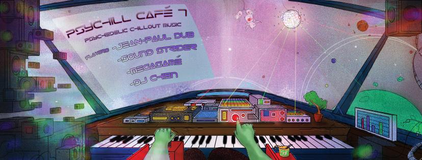 Party flyer: Psychill CAFÉ 7 20 Jan '17, 19:00
