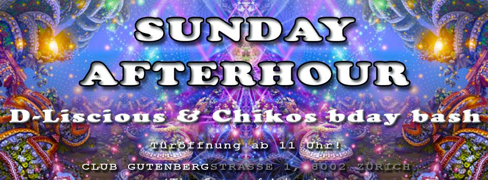 SUNDAY AFTERHOUR - Club GUTENBERG in Zürich 22 Jan '17, 11:00