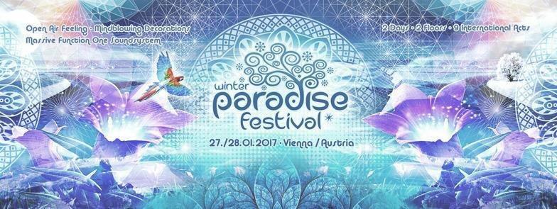 Party flyer: Paradise Winter Festival 2017 27 Jan '17, 22:00