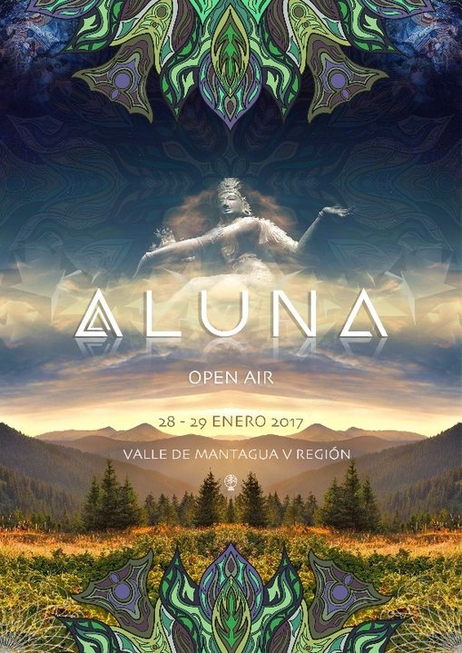 Party flyer: Aluna - Open Air 2017 28 Jan '17, 12:00
