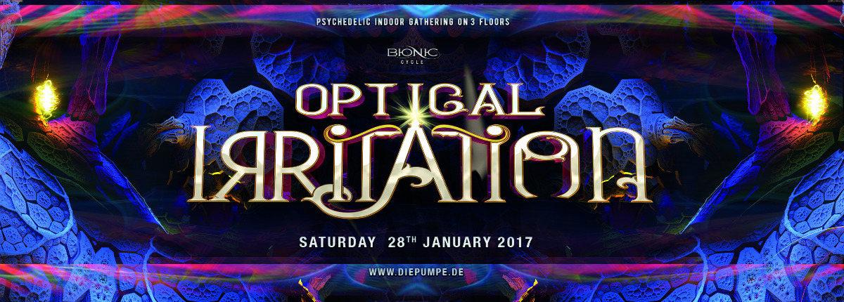 OPTICAL IRRITATION 2017 - Audiomatic - Interactive Noise - Vertical 28 Jan '17, 22:00
