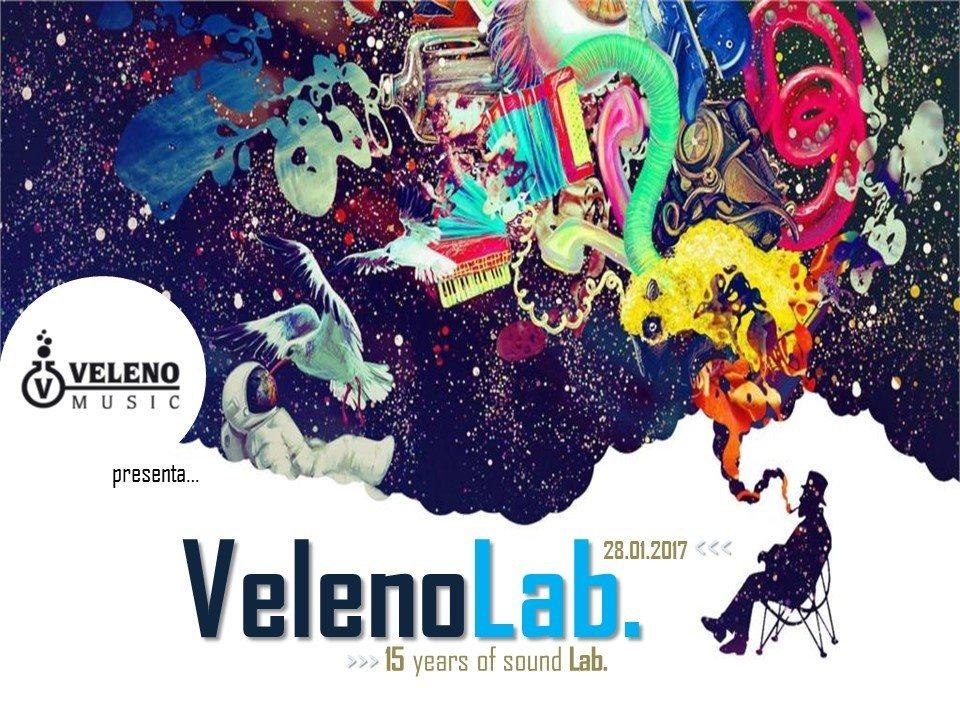 VELENO LAB. # 15 years of Sound Lab. 28 Jan '17, 21:00