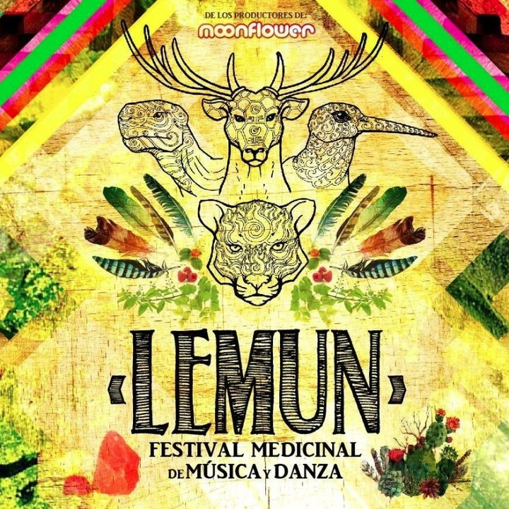 Party flyer: Lemun - Festival Medicinal de Música y Danza 3 Feb '17, 12:00